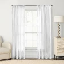 Kohls Kitchen Window Curtains by Goods For Life Maison Windowpane Sheer Window Curtain