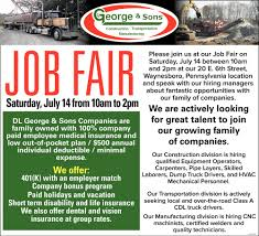 100 Truck Driving Jobs In Pa Job Fair DL George Sons Waynesboro PA