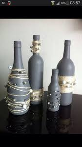 Decorative Wine Bottles Ideas by Best 25 Decorated Bottles Ideas Only On Pinterest Decorated