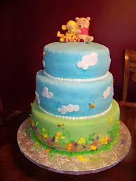 Winnie The Pooh Baby Shower by Sweet Winnie The Pooh Baby Shower Cake Cakecentral Com