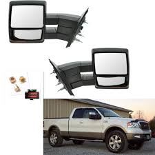 Chrome Towing Power Heated Pair Tow Mirrors Signal Puddle Fit For ... 0708 Ford F150 Lincoln Mark Lt Pickup Truck Set Of Side View Power Flat Black Cap Mirrors Pair Left Right For 11500 Custom Towing Ship From America Walmartcom Buy Penton 32006 Mirror Heated Led Adding Factory Fold Telescoping Tow To 0914 Drivers Manual Pedestal Type Brock Supply 8097 Fd Pickup Manual Mirror Black Steel 5x8 Swing 19992016 Super Duty Rear Inner Door Bottom Cab Vintage Original 671972 Mirrors Left And Right Duty On 9296 Body Style Enthusiasts Forums Pics Trailer Forum Community Amazoncom Scitoo Led Turn Signal Lights Chrome