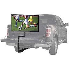 Tailgating Truck TV Mount Black Tailgate Up To 55