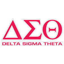 Greek Store Delta Sigma Theta Letters Over Name Decal Greek Clothing