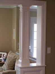 Knee Wall And Column Between Kitchen Family Room