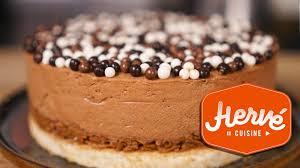 herv cuisine mousse au chocolat recette gateau chocolat royal ou trianon facile biscuit mousse
