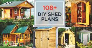 8 X 10 Gambrel Shed Plans by 108 Diy Shed Plans With Detailed Step By Step Tutorials Free