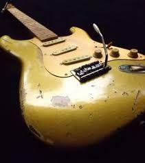 Black Relic Stratocaster Back