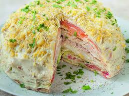 gâteau de crêpes de la mer recette de gâteau de crêpes de la mer
