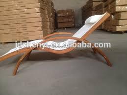 Patio Sunbed Wooden Sun Bed LoungerWooden Pool ODF503
