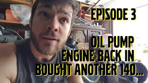 Oil Rain Lamp Pump by More Volvo 240 Turbo Shenanigans Oil Pump Ep 3 Youtube