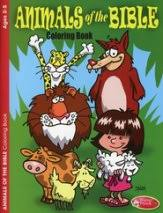 Animals Of The Bible Coloring Book Ages 2 To 5