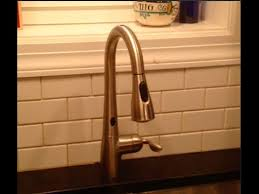 Consumer Reports Kitchen Faucets 2013 by Moen Motionsense Faucet Review Youtube
