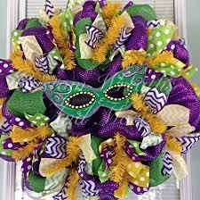 Burlap Mardi Gras Door Decorations by 669 Best Mesh Wreaths Images On Pinterest Mesh Wreaths Etsy