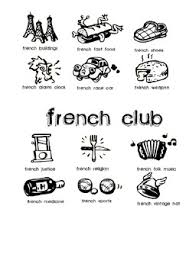 French Club Poster