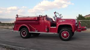 100 Ford Fire Truck 1954 F800 4x4 Marmon Herrington Van Pelt Truck YouTube