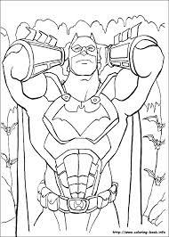 Batman Coloring Book Pages 5 On