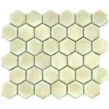 Merola Tile Cobble Hex Polar 10 3 4 In X 12