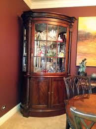 China Cabinet Decorating Ideas Related Images Nice Decoration Corner Dining Room
