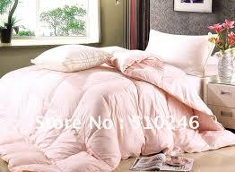 Pale Pink forter Set pink ruffle bedding set tokida for modern