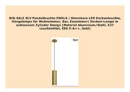 best buy slv pendelleuchte enola dimmbare led