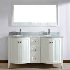 Bathroom Double Vanity Dimensions by Double Sink Bathroom Vanity White Double Stainless Steel Faucets