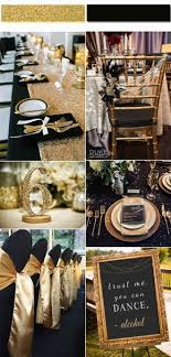 2017 Golden Globe Top 4 Trendy and Chic Colors for Your Wedding