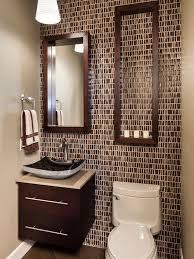 bathroom half bathroom tile ideas inside trendy subway