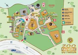 plan zoo fauverie du mont faron zoo fauverie du mont faron