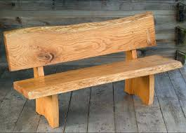 Full Image For Diy Rustic Bench With Back Wooden