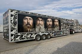 Duck Commander Merch Truck | Duck Commander Willies Food Truck Park Joins Duck Dynasty Family Of Attractions Dub Magazine Willie Robertson The Truck Commander Photo By Dpowell1 From Seveca Sc Commander Ccfr February 14 2013 Deer Hunting Duck Buck Vanity License Plate Car Chevy Silverado By Skyjacker West Monroe La The Lundy 5 La Pinterest Dynasty And Decals For Trucks Oregon Ducks Combat Decal Window
