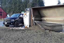 100 Truck Driver Accident Dump Truck Driver Hurt After Highway Crash On Vancouver Island