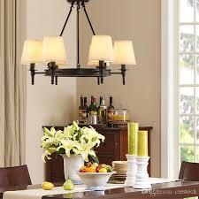 großhandel pendelleuchten american country wohnzimmer lichter deckenle vintage lichter einfache eisen esszimmer schlafzimmer arbeitszimmer