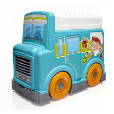 Mega Bloks Food Truck Kitchen - Mattel - Toys
