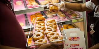 Dunkin Donuts Pumpkin Spice Syrup For Sale by Dunkin Donuts U0027 Latest Creation Is Topped With Maple Bacon Dunkin