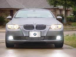 diy hid fog light install coupe e92