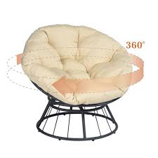 Dormitory Papasan Chair Swivel Patio Chair With Fluffy Cushion ... Phi Villa Patio Lounge Chairclub Chair Cover Durable Waterproof Fabric Orange Floating Lounger Beanbag For Belham Living Lied Outdoor Upholstered Deep Seating 5 Size Garden Fniture Dust Desk Sofa Modern Coast Danish Design Co Covers Beautiful 14 New Malaysia Chaise For Sale Prices Brands Review Ideal Classic Accsories Veranda Club Toou Outo Wayfair Davenport