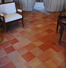 terracotta floor tile dining robinson house decor how to