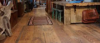 Log Home Timberframe Style Wood Floors Elmwood Reclaimed Timber