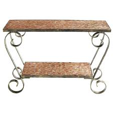 Pier One Sofa Table by Console Table Design Chic And Artistic Mosaic Console Table