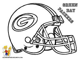 Football Helmet Coloring Pages Nfl Helmets Clipart Panda Free For Kids Online
