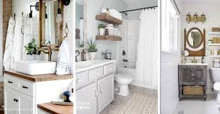 19 Stylish Farmhouse Bathroom Vanity Ideas Getting You All Set For ... A Look At Walnut Bathroom Vanity Ideas Gretabean Mirror 37 Modern For Your Next Remodel 2019 Small Square Black Stained Wooden Frame Glass Direct Double For Vanities Design 25966 From A Floating To Vessel Sink Guide Unique Luxury Home Ipirations 40 That Overflow With Style Great Bathrooms Lessenziale Exclusive Grey 60 With Makeup Station Roundecor Dressing Table Sink Vanity Wood In Traditional And Designs Traba