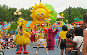Sesame Place Halloween Parade by Sesame Placeneighborhood Street Party
