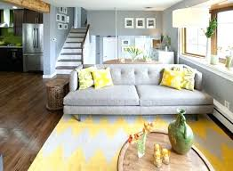 Living Room Dining Color Schemes Scheme Gray And Yellow Blue Grey Colour
