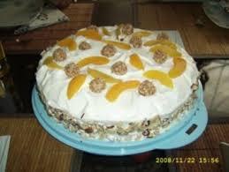 24 pfirsich torte mit frischen pfirsichen und mascarpone