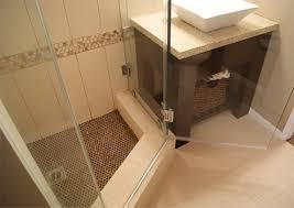linen tile bathroom design decoration