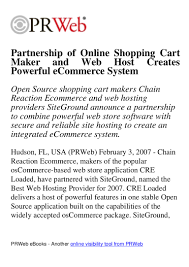 Partnership Of Online Shopping Cart Maker And Web Host ... Bluehost Web Hosting Reviews 2018 Ecommerce Best 25 Hosting Service Ideas On Pinterest Free Email Build Your Online Store 2013 Youtube What Is Shared Vs Vps Dicated Cloud Go Daddy Is Their As Good Ads Suggest Store Builder Business Create Square Webhostface Review Bizarre Name But Worth How To Set Up Own Duda Digitalcom To Use Webcoms Ecommerce Product Spreadsheet For