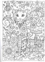 Creative Haven Cats Dover Publications Colouring