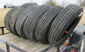 100 Truck Chains 11 Semi Truck Tires And Truck Chains Item F4858 SOLD