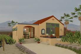 Adobe Southwestern Style House Plan 1 Beds 1 Baths 398 Sq Ft