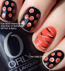 100 Nail Art 2011 Polka Dots Tiger Stripes The Daily Varnish